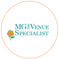 MG the Venue Specialist logo